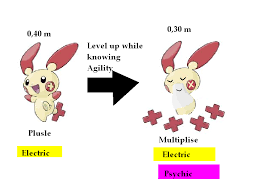 Minun Evolution Chart Fan Made Evolution Lines Plusle And Minuns Evolutions