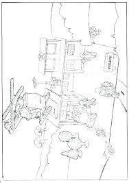 Lego City Coloring Pages Printable City Colouring Pages To Print