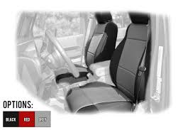 rugged ridge custom fit neoprene front seat covers for 2007 10 jeep wrangler jk 2 door unlimited 4 door models