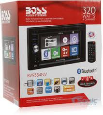boss bv9384nv double din navigation in dash car stereo w 6 2 product boss bv9384nv