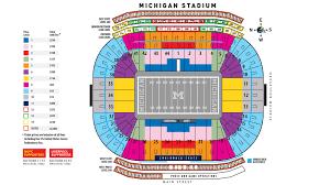 Ohio Stadium Seating Chart With Rows Rational Ohio State University Football Stadium Seating