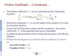 7 friction coefficient