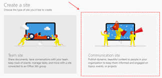 Create Sharepoint Site Template Create A Communication Site From Code In Sharepoint Online