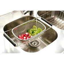 over the sink colander over the sink colander designs and ideas kitchen sink colander basket over the sink colander