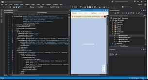 Xamarin Forms Designer Visual Studio Visual Studio 2017 Final Xamarin Forms Previewer Xamarin