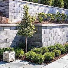 garden and retaining walls techo bloc