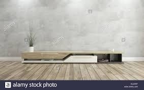 Wall Parquet Designs Tv Stand With Concrete Wall And Wooden Parquet Background