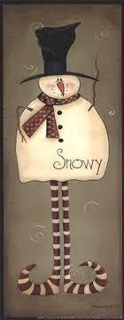 Mini-Snowy by Bonnee <b>Berry</b> | <b>Christmas</b> paintings, Winter crafts ...