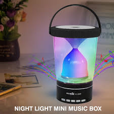Night Light Night Light Mini Music Box Three Brightness Colorful Touch