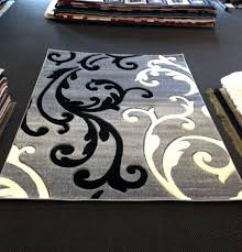 grey and white rug cool black and white area rugs gray black white modern area rug
