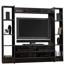Tv Entertainment Stand Beginnings Entertainment Wall System 413044 Sauder