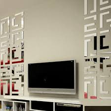 best popular 3d mirror wall art style sticker peel and stick reflected surfaces livingrooms decor on 3d mirror wall art stickers with wall art design ideas best popular 3d mirror wall art style sticker