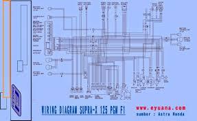 jawaban tentang pertanyaan cdi motor com wiring diagram kelistrikan supra x 125cc pgm f1