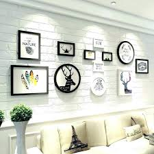 wall picture frame sets collage set white mounted family photo black hanging wall picture frame sets
