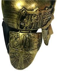 Hüte & Kopfbedeckungen Roman Spartan Sutton Hoo Crusader Knight Helmet Mask  Medieval Costume Armor Kleidung & Accessoires bailek.com