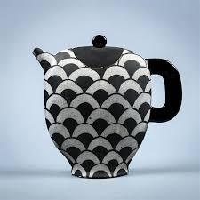 America Studio Pottery Stoneware Teapot Circa 2000 Of Comp
