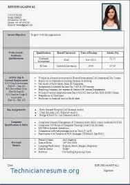 Resume For M Tech Freshers Fresher Resume Sample Sample Home