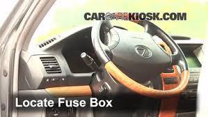 interior fuse box location lexus gx lexus interior fuse box location 2003 2009 lexus gx470 2003 lexus gx470 4 7l v8