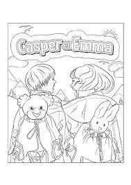 Kleurplaat Casper Emma In De Bergen Kleurplaten Diy Zappelin