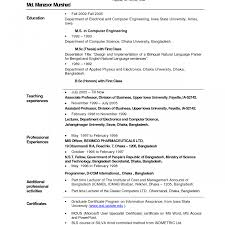Objective In Resume For Computer Science Literarywondrous Objectives For Resume Freshers Example Teacher 82