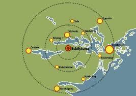 Bildresultat för eskilstuna karta