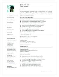One Page Resume Template Word Two Pages Classic Resume Template