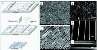 progress toward nanowire device assembly technology intechopen alignment of nanowires by lb and ls techniques a schematic processes of the