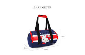 o kitty cute style multifunction bag storage container lunch bags