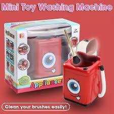 Máy Giặt Mini Cho Trẻ Em Cọ Trang Điểm/Bọt Biển Máy Làm Sạch Mô Phỏng Tự  Động