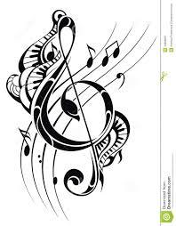 Fond De Note De Musique Illustration De Vecteur Illustration Du
