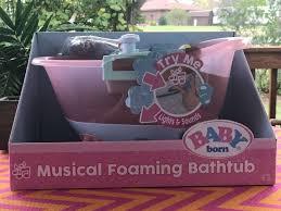 baby born al foaming bathtub