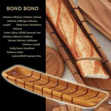 in bonobono bono bono bread cut tray acacia baguette tray bread cutting board