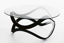 contemporary coffee table glass oak ash