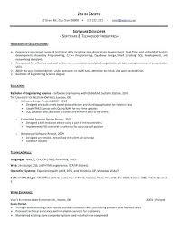 Best Resume For Software Engineer Resume Format Software Download Testing Resume Samples Resume Format