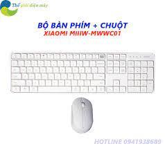 Bộ bàn phím kèm chuột không dây XIAOMI MIIIW-MWWC01 - Bảo hành 6 tháng -  Shop Thế Giới Điện Máy Thế giới điện máy