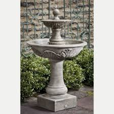 fountains for sale. Acanthus Two Tier Pedestal Outdoor Water Fountain Fountains For Sale N