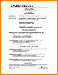 6 Curriculum Vitae Format For Teachers Mail Clerked Cv Pics Cover