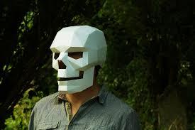 3d geometrical masks steve wintercroft 1