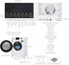 TRẢ GÓP 0% - Máy giặt Aqua Inverter 9 kg AQD-D900F(W) Model 2020 -Tự