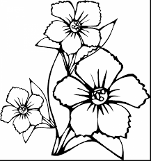 Small Picture Flower Coloring Pages Free Print Geometric In Free Coloring Pages