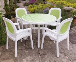 white plastic patio table and chairs. Toscana Lime Green Decor Top Europa Leisure UKEuropa With Unique White Plastic Patio Table And Chairs D