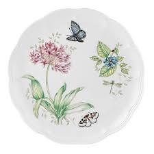 lenox butterfly meadow dinner plates. Fine Dinner Lenox Butterfly Meadow Blue Dinner Plate Intended Plates Amazoncom
