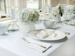 white table settings. Make It Personal White Table Settings H