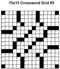blank crossword puzzle grids printable 15x15 medium crossword puzzle grid 5 puzzle 22 cross word puzzles