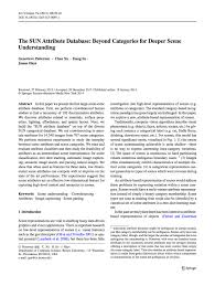 sun attribute dataset papers