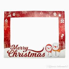 diy photo frame paper photo booth props merry picture selfie frame background party decoration uk 2019 from fullhouse517
