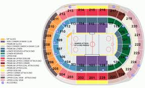 San Jose Sharks Home Schedule 2019 20 Seating Chart