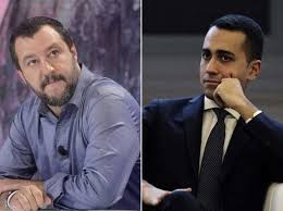 Image result for Photo of Salvini and Legs