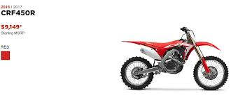 2018 honda 450f. perfect 2018 to help lighten things up honda completely ditched the kicker assembly  and although 2018 crf450r does weigh 5 pounds more than 2017 version  for honda 450f