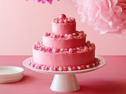 Birthday Cake With Hot Pink Butter Icing Recipe Ina Garten Food